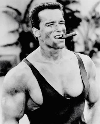 Actor/Bodybuilder/Politician Arnold Schwarzenegger